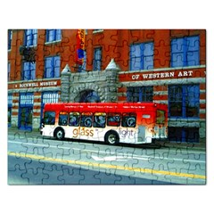 Double Decker Bus   Ave Hurley   Jigsaw Puzzle (Rectangle)
