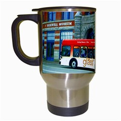 Double Decker Bus   Ave Hurley   Travel Mug (White)