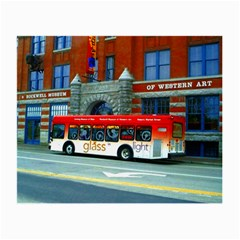 Double Decker Bus   Ave Hurley   Glasses Cloth (Small)