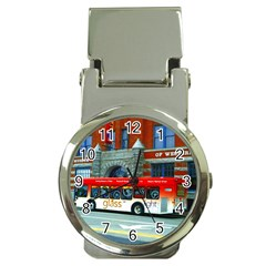 Double Decker Bus   Ave Hurley   Money Clip With Watch