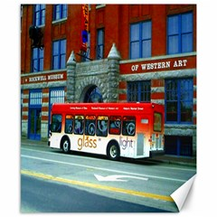 Double Decker Bus   Ave Hurley   Canvas 8  x 10  (Unframed)