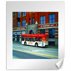 Double Decker Bus   Ave Hurley   Canvas 20  x 24  (Unframed)