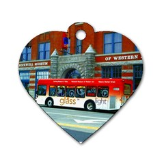 Double Decker Bus   Ave Hurley   Dog Tag Heart (One Sided)