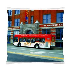 Double Decker Bus   Ave Hurley   Cushion Case (Single Sided)