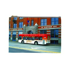 Double Decker Bus   Ave Hurley   Cosmetic Bag (large)