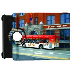 Double Decker Bus   Ave Hurley   Kindle Fire Hd 7  (1st Gen) Flip 360 Case