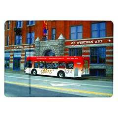 Double Decker Bus   Ave Hurley   Samsung Galaxy Tab 10.1  P7500 Flip Case