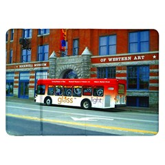 Double Decker Bus   Ave Hurley   Samsung Galaxy Tab 8.9  P7300 Flip Case