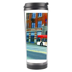 Double Decker Bus   Ave Hurley   Travel Tumbler