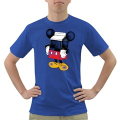 Milky Mouse Men s T-shirt (Colored)