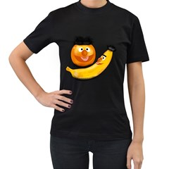 Friendship Forever Women s T-shirt (Black)