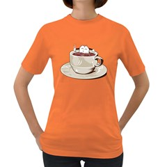 Tea Time Women s T Shirt (colored)