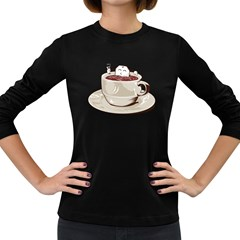 Tea Time Women s Long Sleeve T-shirt (Dark Colored)