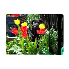Black Gsd Pup Apple Ipad Mini Flip Case