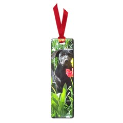 Black GSD Pup Small Bookmark