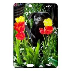 Black GSD Pup Kindle Fire HD 7  (2nd Gen) Hardshell Case