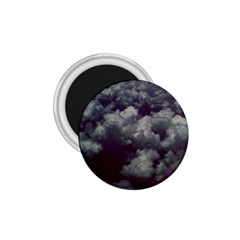 Through The Evening Clouds 1.75  Button Magnet