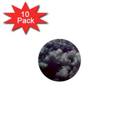 Through The Evening Clouds 1  Mini Button Magnet (10 pack)