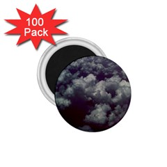 Through The Evening Clouds 1.75  Button Magnet (100 pack)