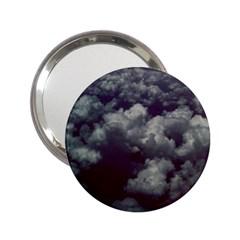 Through The Evening Clouds Handbag Mirror (2.25 )