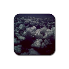 Through The Evening Clouds Drink Coaster (Square)