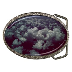 Through The Evening Clouds Belt Buckle (Oval)