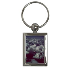 Through The Evening Clouds Key Chain (Rectangle)