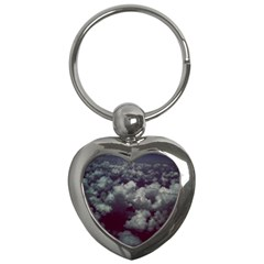 Through The Evening Clouds Key Chain (Heart)