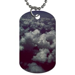 Through The Evening Clouds Dog Tag (One Sided)