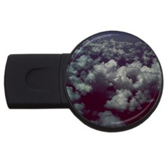 Through The Evening Clouds 1GB USB Flash Drive (Round)
