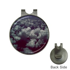 Through The Evening Clouds Hat Clip with Golf Ball Marker
