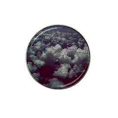 Through The Evening Clouds Golf Ball Marker 4 Pack (for Hat Clip)