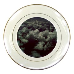 Through The Evening Clouds Porcelain Display Plate
