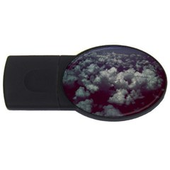 Through The Evening Clouds 4GB USB Flash Drive (Oval)