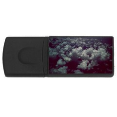 Through The Evening Clouds 4GB USB Flash Drive (Rectangle)