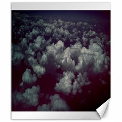 Through The Evening Clouds Canvas 20  x 24  (Unframed)
