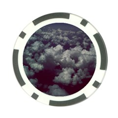 Through The Evening Clouds Poker Chip