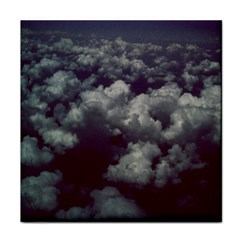 Through The Evening Clouds Face Towel