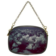 Through The Evening Clouds Chain Purse (one Side)