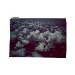 Through The Evening Clouds Cosmetic Bag (large)