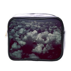 Through The Evening Clouds Mini Travel Toiletry Bag (one Side)