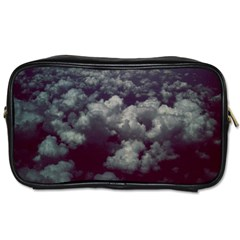 Through The Evening Clouds Travel Toiletry Bag (One Side)