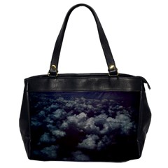 Through The Evening Clouds Oversize Office Handbag (One Side)