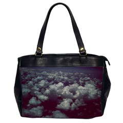 Through The Evening Clouds Oversize Office Handbag (Two Sides)