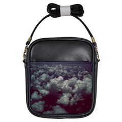 Through The Evening Clouds Girl s Sling Bag
