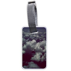 Through The Evening Clouds Luggage Tag (One Side)