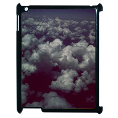 Through The Evening Clouds Apple iPad 2 Case (Black)