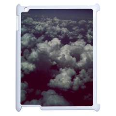 Through The Evening Clouds Apple Ipad 2 Case (white)