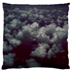 Through The Evening Clouds Large Cushion Case (Single Sided)