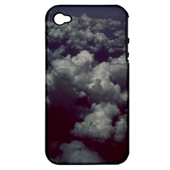 Through The Evening Clouds Apple Iphone 4/4s Hardshell Case (pc+silicone)